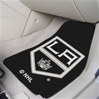 "NHL - Los Angeles Kings 2-pc Carpet Car Mat Set 17""x27"""