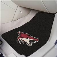 Phoenix Coyotes 2-pc Printed Carpet Car Mat Set