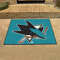"NHL - San Jose Sharks All-Star Mat 33.75""x42.5"""