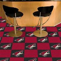 Phoenix Coyotes 18x18 Team Carpet Tiles, Covers 45 Sq. Ft.