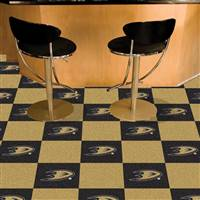 "NHL - Anaheim Ducks Team Carpet Tiles 18""x18"" tiles"