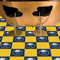 Buffalo Sabres 18x18 Team Carpet Tiles, Covers 45 Sq. Ft.