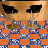 New York Islanders 18x18 Team Carpet Tiles, Covers 45 Sq. Ft.
