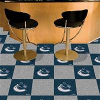 Vancouver Canucks 18x18 Team Carpet Tiles, Covers 45 Sq. Ft.