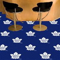 Toronto Maple Leafs 18x18 Team Carpet Tiles, Covers 45 Sq. Ft.