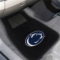 "Penn State 2-pc Embroidered Car Mat Set 17""x25.5"""