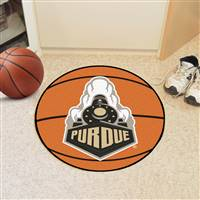 "Purdue Boilermakers Basketball Rug 29"" diameter"