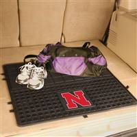 "University of Nebraska Heavy Duty Vinyl Cargo Mat 31""x31"""