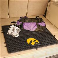 "University of Iowa Heavy Duty Vinyl Cargo Mat 31""x31"""