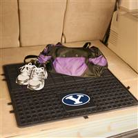 "Brigham Young University Heavy Duty Vinyl Cargo Mat 31""x31"""