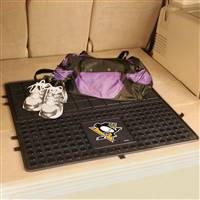 "NHL - Pittsburgh Penguins Heavy Duty Vinyl Cargo Mat 31""x31"""