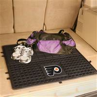 "NHL - Philadelphia Flyers Heavy Duty Vinyl Cargo Mat 31""x31"""