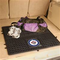 "NHL - Winnipeg Jets Heavy Duty Vinyl Cargo Mat 31""x31"""