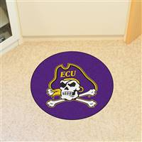 "East Carolina University Round 27"" diameter"