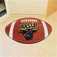 "Minnesota State University - Mankato Football Mat 20.5""x32.5"""