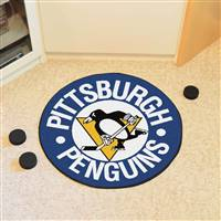 "NHL - Pittsburgh Penguins Puck Mat 27"" diameter"