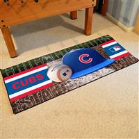 "Chicago Cubs MLB Runner Mat 30"" x 72"""