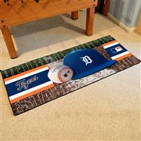 "Detroit Tigers Runner Mat 30""x72"""