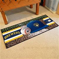 "Milwaukee Brewers Runner Mat 30""x72"""