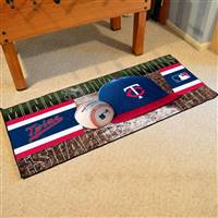 "Minnesota Twins Runner Mat 30""x72"""