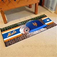 "New York Mets Runner Mat 30""x72"""