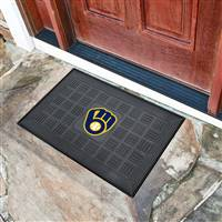 Milwaukee Brewers Vinyl Door Mat
