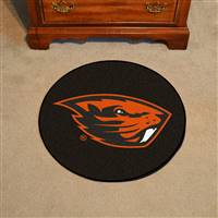 "Oregon State University Puck Mat 27"" diameter"