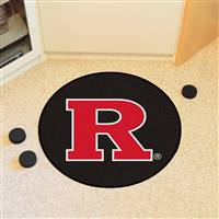 "Rutgers University Puck Mat 27"" diameter"