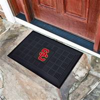 "University of Southern California Medallion Door Mat 19.5""x31.25"""