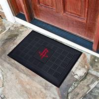 "NBA - Houston Rockets Medallion Door Mat 19.5""x31.25"""
