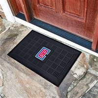 "NBA - Los Angeles Clippers Medallion Door Mat 19.5""x31.25"""
