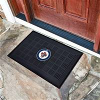 "NHL - Winnipeg Jets Medallion Door Mat 19.5""x31.25"""
