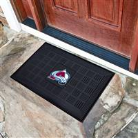 "NHL - Colorado Avalanche Medallion Door Mat 19.5""x31.25"""