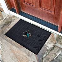 "NHL - San Jose Sharks Medallion Door Mat 19.5""x31.25"""