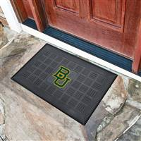 "Baylor University Medallion Door Mat 19.5""x31.25"""