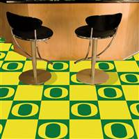 "University of Oregon Team Carpet Tiles 18""x18"" tiles"