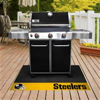 "NFL - Pittsburgh Steelers Grill Mat 26""x42"""