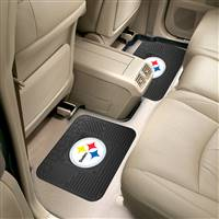 "NFL - Pittsburgh Steelers 2 Utility Mats 14""x17"""