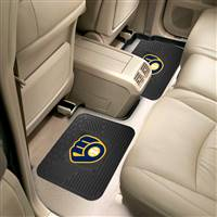 "Milwaukee Brewers 2 Utility Mats 14""x17"""