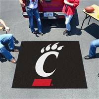 "University of Cincinnati Tailgater Mat 59.5""x71"""
