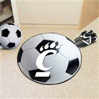 "Cincinnati Bearcats Soccer Ball Rug 29"" diameter"