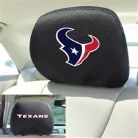 "NFL - Houston Texans Head Rest Cover 10""x13"""