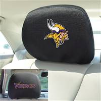 "NFL - Minnesota Vikings Head Rest Cover 10""x13"""