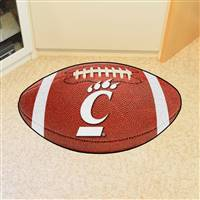 "Cincinnati Bearcats Football Rug 22""x35"""