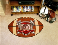 "Troy University Trojans Football Rug 22""x35"""