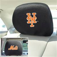 "New York Mets Head Rest Cover 10""x13"""