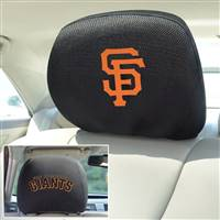 "San Francisco Giants Head Rest Cover 10""x13"""