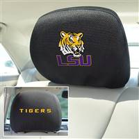 "Louisiana State University Head Rest Cover 10""x13"""