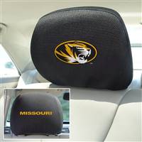 "University of Missouri Head Rest Cover 10""x13"""