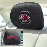 "University of South Carolina Head Rest Cover 10""x13"""